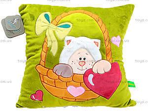 Подушка «Котик-Почемучка», К367А, цена