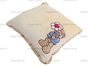 Подушка «Медвежонок с ромашкой», К197, фото