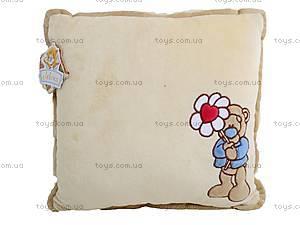 Подушка «Медвежонок с ромашкой», К197