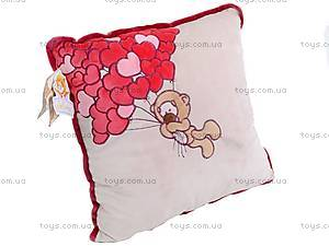 Подушка «Медвежонок с сердечками», К202, фото