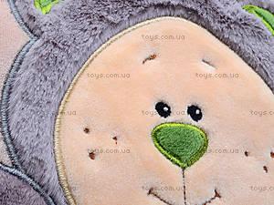 Подушка мягкая «Медвежонок-Почемучка», К367В, отзывы