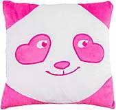 Подушка «Панда - смайл» влюбленный, ПД-0152, отзывы