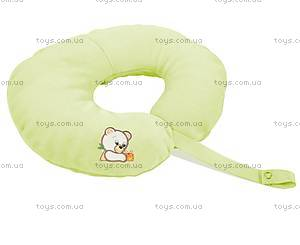 Подушка под шею PEPI, зеленая, 0056-52