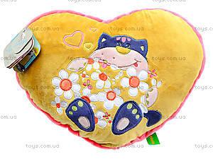 Подушка-сердце «Флирт», К365Е, фото