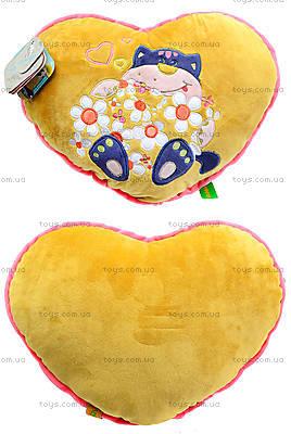 Подушка-сердце «Флирт», К365Е
