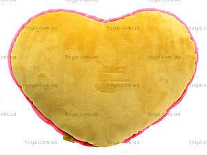Подушка-сердце «Флирт», К365Е, отзывы