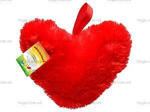 Подушка в виде сердца, 43 см, 20.04.04, фото