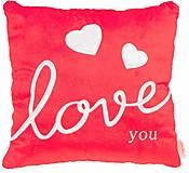 Подушка-валентинка Люблю тебя красная, ПД-0216, отзывы