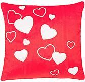 Подушка-валентинка Любовь красная, ПД-0215, фото