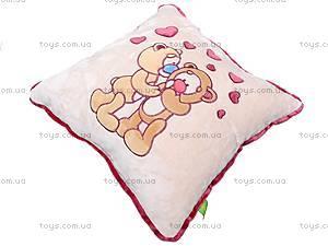 Подушка «Влюбленные медвежата», К200, купить
