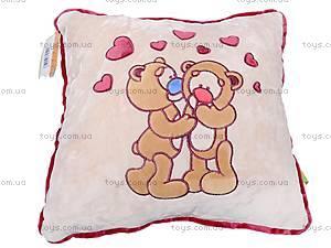 Подушка «Влюбленные медвежата», К200, отзывы