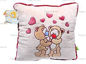 Подушка «Влюбленные медвежата», К200