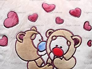 Подушка «Влюбленные медвежата», К200, игрушки