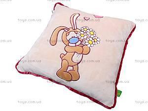 Подушка «Зайчик с ромашками», К199, купить
