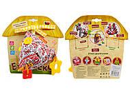 Подвеска-птичка с прорезывателем «Этно-Эко», MK5301-01, детские игрушки