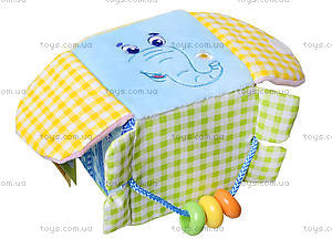 Подвеска-кубик «Слон Милашка», MK5101-03, фото