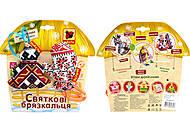 Праздничные погремушки серии «Этно-Эко», MK5401-01, фото