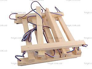 Подвесная качель, деревянная, , toys.com.ua