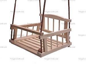 Подвесная качель, деревянная, , купить