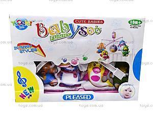 Подвесная погремушка «Карусель», музыкальная, 999-3A/5A, детские игрушки