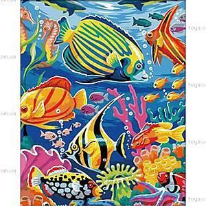 Подводный мир, рисование по номерам, КН007