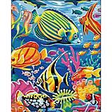 Подводный мир, рисование по номерам, КН007, фото