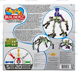 Подвижный конструктор ZOOB Glow Creepy, 0Z14003, игрушки