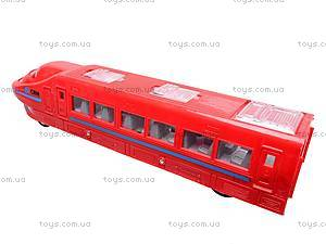 Поезд игрушечный инерционный, 789-5, фото