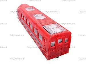 Поезд игрушечный инерционный, 789-5, игрушки