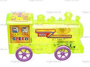 Поезд инерционный, 4 вида, 0381, фото