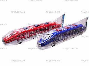 Поезд инерционный, для детей, 895-1, фото