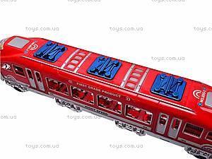 Поезд инерционный, для детей, 895-1, отзывы