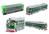 Металлический поезд с эффектами, 7787(1473342-R), купить
