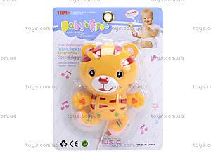 Музыкальный тигренок-погремушка для малышей, 0609-30, купить