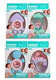 Погремушка-прорезыватель для малышей, 4 вида, 08450B, фото