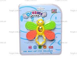 Погремушка «Бабочка» для детей, WD3313