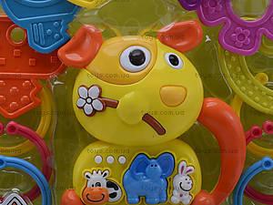 Музыкальная погремушка с грызунками, 13030, игрушки