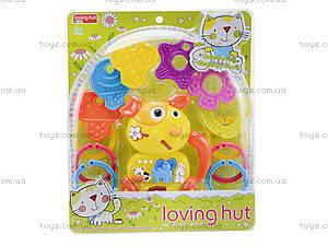 Музыкальная погремушка с грызунками, 13030, детские игрушки