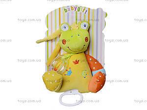 Музыкальная мягкая игрушка-тянучка на кроватку, BT-T-0013, купить