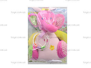 Музыкальная мягкая игрушка-тянучка на кроватку, BT-T-0013, цена