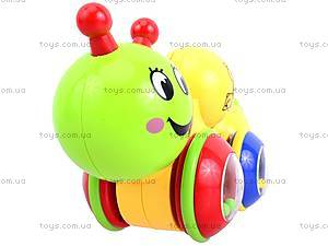 Погремушка «Чудо-гусеница», 0948, игрушки
