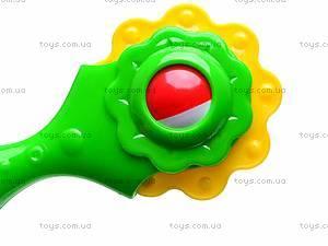 Погремушка «Цветок», 01515, фото
