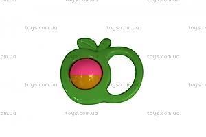Погремушка для детей «Яблоко», 45607, купить