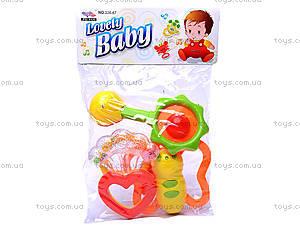 Погремушка для малыша, в ассортименте, 326-67, игрушки