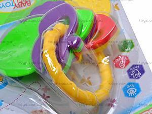 Погремушка-грызунок для деток, 536-042, цена