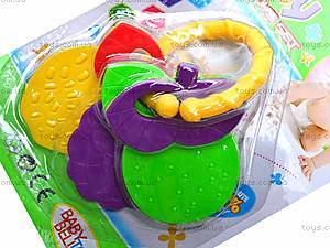 Погремушка-грызунок для деток, 536-042, игрушки