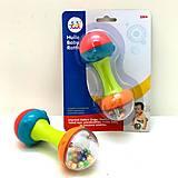 Погремушка Huile Toys «Гантелька», 939-3, купить