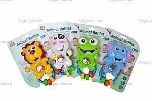 Погремушка «Животные», WD3661ABCD, игрушки