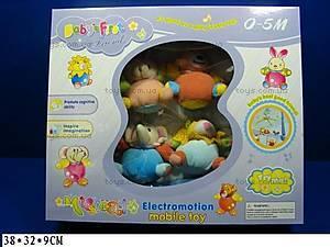 Погремушка «Карусель», с мягкими игрушками, 869-9A
