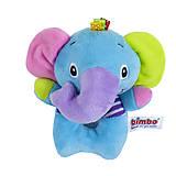 Погремушка мягкая детская «Слон» Bimbo, BM-47479, купить